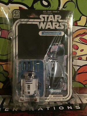 Star Wars Black Series 40th Anniversary R2-D2 Mint Collector Grade