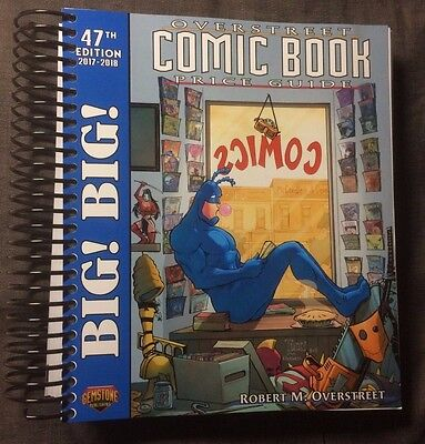 Big Big Overstreet Comic Book Price Guide #47 Billy Tucci Tick Spiral Bound New