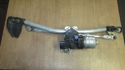 WIPER MOTOR LINKAGE FRONT OPEL ASTRA H bj.08 13271686lhd 0390241553