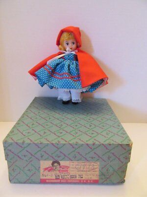 "1973 Vtg Madame Alexander Little Red Riding Hood 8"" Doll #782"