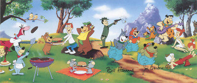 The COMPANY PICNIC PRINT Hanna Barbera Muttley Astro