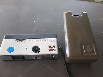 KODAK INSTAMATIC 300 FILM CAMERA  with STRAP and CASE