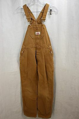 Roundhouse Youth Szie 14 B Tan Work Bib Overalls