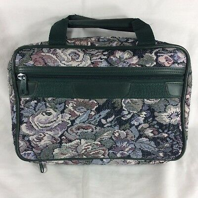 Floral Tapestry LDS Scripture Case LARGE Mormon Quad Tote Carrying Book Bag Hold
