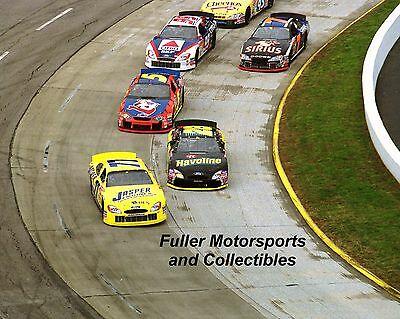 Robert Pressley Ricky Rudd Terry Labonte 2002 Nascar Winston Cup 8X10 Photo