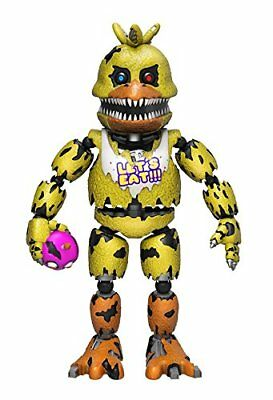 "FunKo Five Nights at Freddy's Nightmare Chica 5"" Articulated Action Figure"