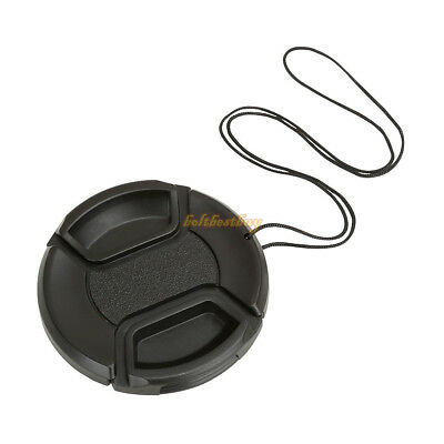 52mm 52 mm Centre Pinch Lens Cap for Canon Camera LC52 LC-52 snap on front lens