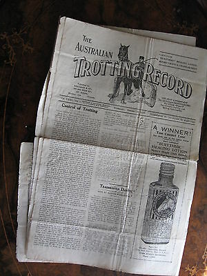 The Australia Trotting Weekly       JAN 30 1929