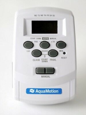 AquaMotion AMK-T Digital Timer For AMH1-K1 Recirculation System NEW