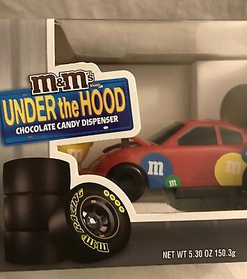 M&M Under the hood chocolate candy dispenser