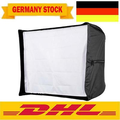 60*90cm Faltbare Quadrangle Umbrella Softbox Diffusor Reflektor+Wabenraster I4T4