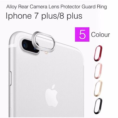 Alloy Rear Camera Lens Protector Guard Ring Case For Apple iPhone 8 PLUS /7 PLUS