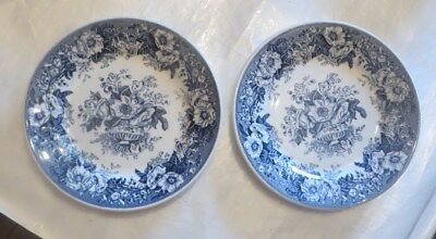 2 assiettes « Royal Sphinx Maastricht Balmoral »