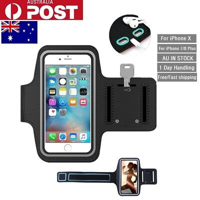 For iPhone X 7 8 Plus Durable Gym Jogging Phone Case Running Case Sports Armband