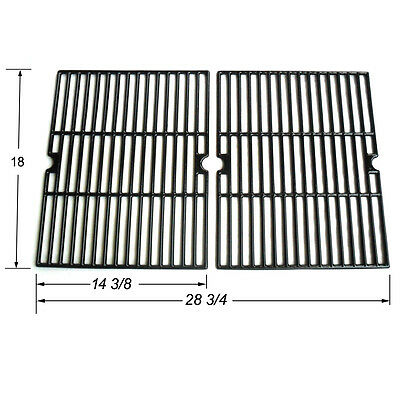 Uniflame Gas Grill Grate Porcelain Coated Cast Iron Cooking Grid JGX502