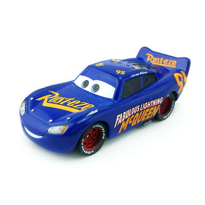 Mattel Disney Pixar Cars 3 No.95 Fabulous Lightning Mcqueen Toy Car 1:55 Loose