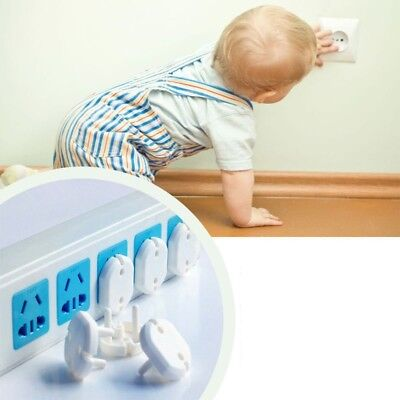 10pcs Baby Child Eu Power Socket Outlet Plug Protective Cover Safety Protector