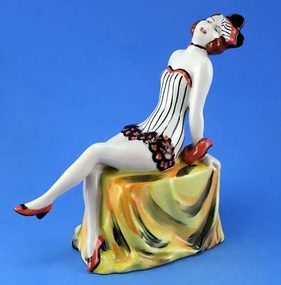 Lorna Bailey ART DECO LADY GAIETY FIGURINE, LIMITED EDITION 25/100, JAN 2003.