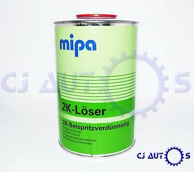 Mipa 2K Loser Fade Out Thinner 1L Litre Additive Blending Solvent Paint Thinner
