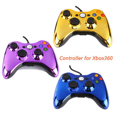 For Microsoft Xbox 360 Wired Controller Joypad Console Wired Gamepad Cool Color