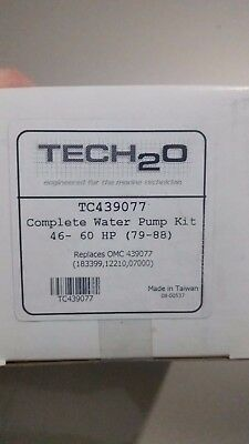 New Complete Water Pump Repair Kit Suits Johnson Evinrude 439077