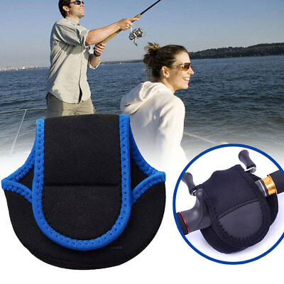 Mini Fishing Reel Storage Bag Holder Protective Cover Case Pouch Outdoor Fishing