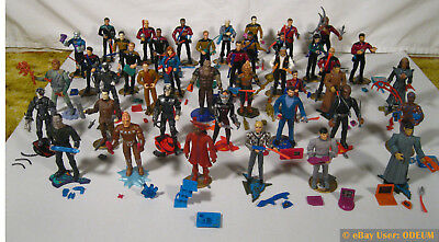 HUGE LOT 46 Star Trek Playmates Action Figures Next Generation & DS9 + More