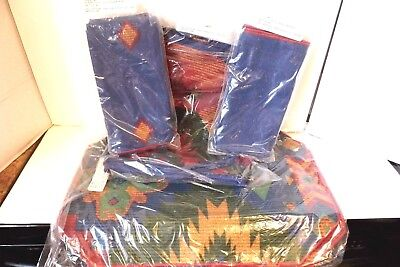 Longaberger Sunset Table Linens Collection 8 Napkins 4 Placemats & Table Runner