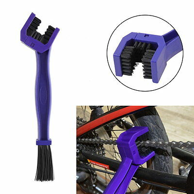 Gear and Chain Cleaning Brush Cleaner Tool For Motorcycle Cycling Bikes Hot CVD