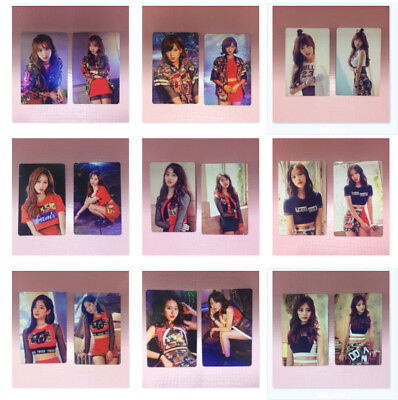 TWICE Fan Meeting ONCE BEGINS Official PHOTOCARD Set A Ver. WHITE Select Option
