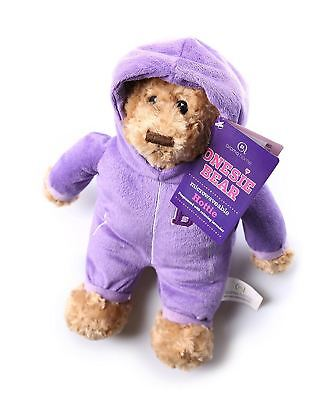Aroma Home Purple Bear Microwavable Hottie Heatable Heated Cozy Warmer Warm