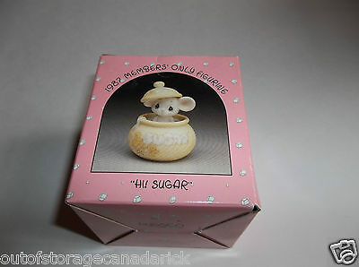 1987 Precious Moments Hi! Sugar Members Only BC-871 MIB