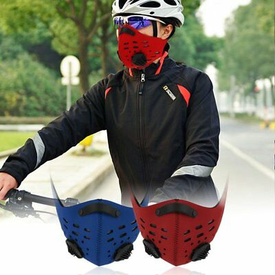Half Face Mask Filter Anti Dust Cycling Bicycle Bike Motorcycle Racing Ski B4U