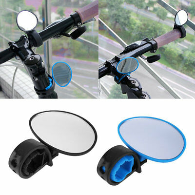 Bike Bicycle Cycling Rear View Mirror Handlebar Flexible Safety Rearview DTV