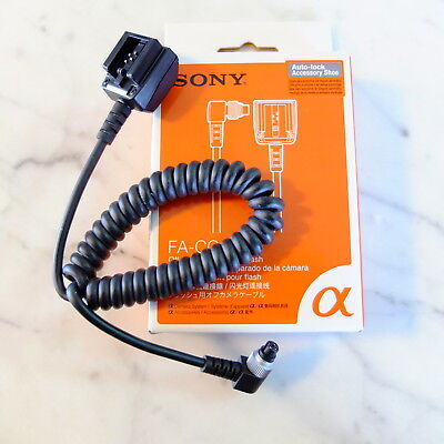 NEW Sony FA-CC1AM Off Camera Cable for Flash