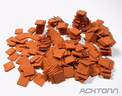 Multi-Scale Diorama Accessories Clay Roof Tile Set 1:72/1:48/1:35 Model Scenery