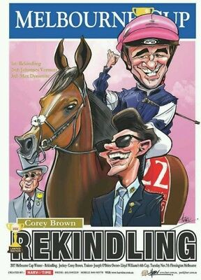 Rekindling Melbourne Cup Poster Limited Edition