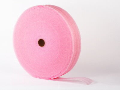 "1/16"" PE Anti-Static Pink Foam Packaging Wrap 9"" X 1250' Per Roll"