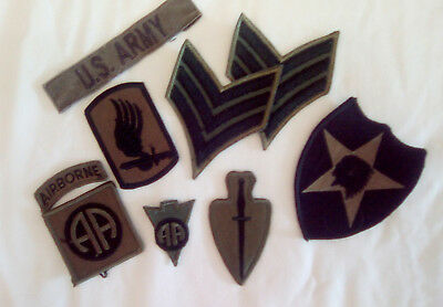 US ARMY PATCHES Variety Lot