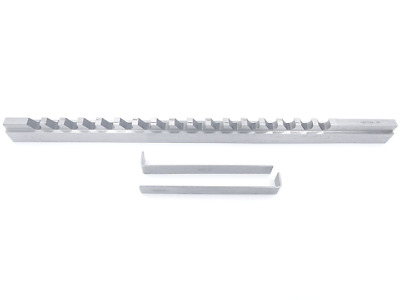 "5/16""- Style D, H.S.S. Keyway Broach, Length of Cut: 1-6"", 1 Shim"