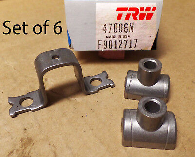 Lot of 6 TRW 47006N Engine Rocker Arm Pivots For GM Cars 69-90 Made in USA