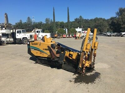 2005 Vermeer D7X11 SII Directional Drill Package W/Locator, Trailer & Mud System