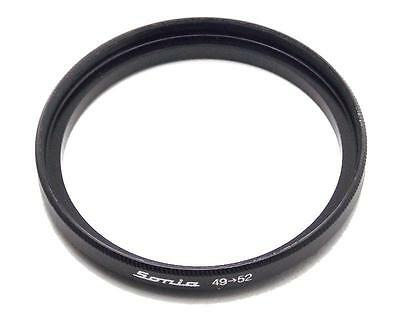 Metal Step up ring 49mm to 52mm 49-52 Sonia New Adapter