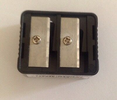 ** NEW ~ 2x Duo Pencil Sharpener ~ Make Up Use/ Domestic Use **