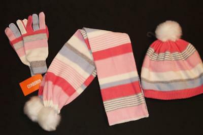 NWT Gymboree COZY FAIRYTALE sweater had gloves scarf L 10 12 EEUC NWOT