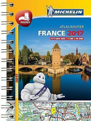 France Mini Atlas: 2017 by Michelin Travel Publications  - Spiral - New