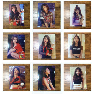 TWICE 트와이스 Fan Meeting ONCE BEGINS Official L-HOLDER #A Clear File Select Option