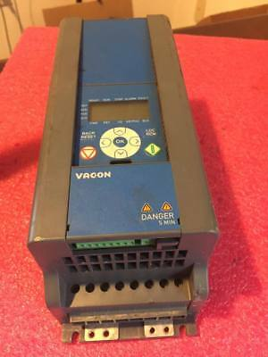 VACON0020-3L-0008-4-R02 Variable Frequency Drive IP20 9.6 Amps 3PH 380-480VAC