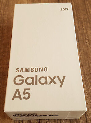Samsung Galaxy A5 2017 SM-A520F 32GB Genuine Box Empty