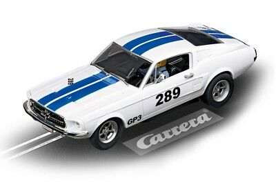Carrera Evolution 1967 Ford Mustang Gt 289 Slot Car 1/32 - # 27450 - New In Case